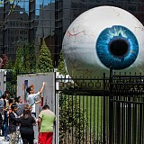 Eye at The Joule The Pegasus School Mural