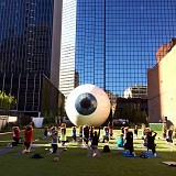 Eye at The Joule Complimentary Yoga Class