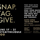 Eye at The Joule Selfie for a Cause Campaign